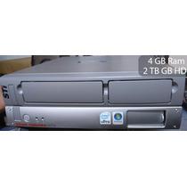 Cpu Semp Toshiba Cs5064 Core 2 Duo 4 Gb Ram 2 Teras De Hd