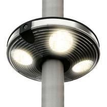 Luminária Suspensa Para Ombrelone 20 Cm 04 Luzes A Pilha