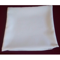 Kit C/10 Unid Capa Almofada Oxford 30x30 Branca - Sublimação