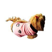 Roupinha Pet Tamanho 0 Camisa Cachorro Cães