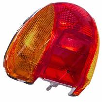 Lanterna Traseira Completa Honda Biz 100 Pop 100 Com Lampada