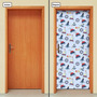 Adesivo Decorativo De Porta - Infantil - Marítimo - 685mlpt