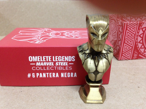 9bbf0b0b6 Omelete Marvel Steel Collectibles - Pantera Negra