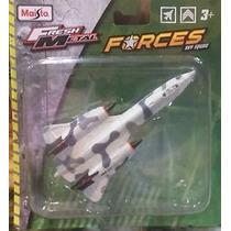 Miniatura Em Metal Sr-71 Blackbird Forces Sky Squad Sem Pé