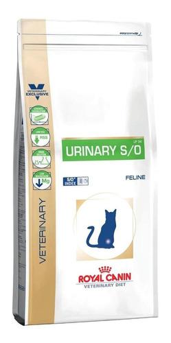Ração Royal Canin Urinary S/o Lp 34 Veterinary Diet Feline Gato Adulto 7.5kg