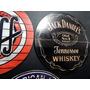 Placa Redonda Em Mdf Jack Daniels Cerveja Duff Coca-cola