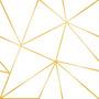 Papel De Parede Triangulo Geométrico Cinza Rosa Menina 3m Original