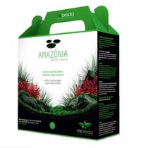 Substrato Fértil Mbreda Amazônia 2,5kg Para Aquário Plantado