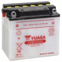 Bateria Yuasa Yb7-a Suzuki Intruder 125 Yes 125 Katana 125