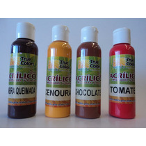 Tintas Para Artesanato Mdf True Colors Acrilica 60ml