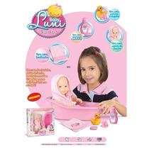 Boneca Baby Luni Banho Diver Toys