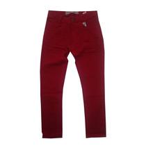 Calça Skinny Juvenil Vermelha Ref:5005- Preço De Fábrica