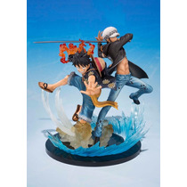 One Piece:monkey D. Luffy & Trafalgar 5th Aniversary Bandai