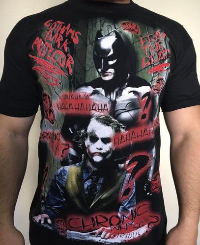 6 Camiseta Ogabel Coringa Batman Catrina Arlequina Shakira. Preço  R  120  Veja MercadoLibre d60a0c79a82