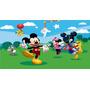 Big Painel De Festa Mickey E Minnie Mouse Disney - 3x2