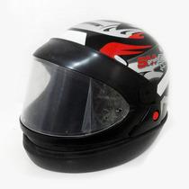 Capacete Moto Taurus San Marino Grafic Automático Preto 58