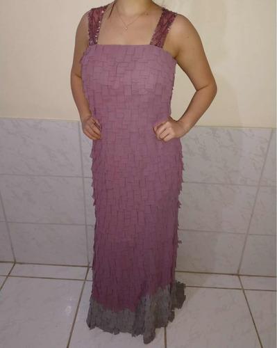 9a0816c81d4 Vestido De Festa Manequim 40 Usado Apenas 1 Vez