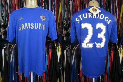 Chelsea 2012 Camisa Titular Tamanho G Número 23 Sturridge 262794aa5f360
