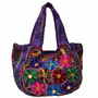 produto Bolsa Boho C/ Alça Estampa Floral Design Hobo Importado