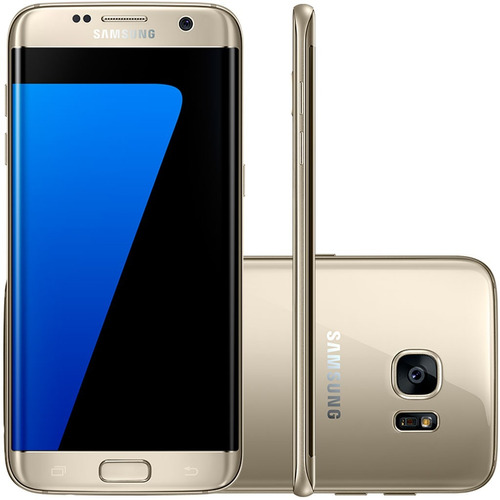 Samsung Galaxy S7 Edge Dourado 32gb Tela 5.5 ´ ´ Desbloqueado