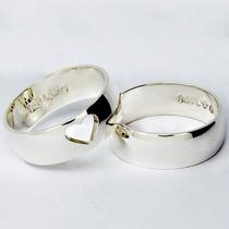 Busca Aliança de prata com os melhores preços do Brasil - CompraMais ... b943fd8365