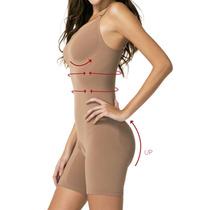 Body Alça Modelador Feminino Redutor De Medidas Compressão.