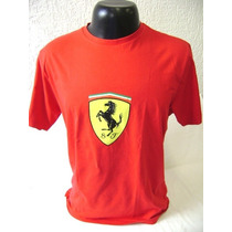 Camiseta Ferrari Original - Santander