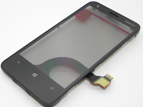 294e5508786 Tela Touch Screen Nokia Lumia 620 N620 Original Com Aro R$34.99 ...