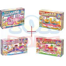 Kit 04 Brinquedos Cre Crec Big Star - Super Oferta