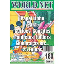 500 Folhas Papel Linho Branco Pacote