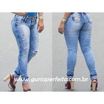 Calça Rhero Jeans Com Bojo -estilo Pit Bull Jeans!cód. 54054