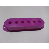 Capinha Captador Single Guitarra Lilás Cover Pick 52mm