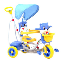 Triciclo Infantil 3 Em 1 Esquilo Track & Bikes Kids 310 Azul