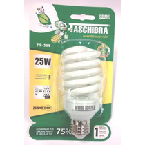 Lâmpada Fluorescente Compacta Espiral 25w 220v E27 2700k