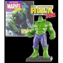 Miniatura Hulk Eaglemoss + Revista Marvel Especial