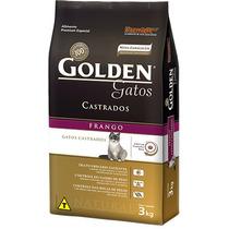 Ração Golden Gatos Castrados Adultos Frango 10,1kg