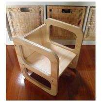 Cadeira Infantil Cubix Vira Mesa Montesoriano Toca Do Panguá