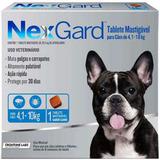 Nexgard Contra Pulgas E Carrapatos 4 A 10kg(01)