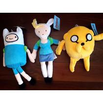 Kit Pelúcia Adventure Time/hora De Aventura. Frete Grátis