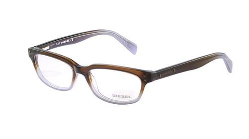 Óculos De Grau Diesel Casual Marrom