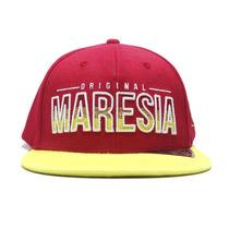 Boné Maresia Aba Reta Red And Yellow