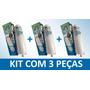 Kit 3 Filtro Refil Purificador De Água Soft Everest Plus
