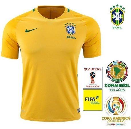 896c737b8a Camisa Seleção Brasileira Oficial Copa 2018 Pronta Entrega! - R  49 ...
