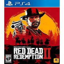 Red Dead Redemption 2 Ps4 Mídia Física Lacrado Pronta Entreg