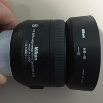 Lente Para Máquina Fotográfica Nikon 35mm 1.8g