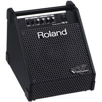 Amplificador Roland Pm-10 Monitor Pessoal Para Bateria Eletr