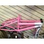 Quadro De Bicicleta Aro 20 Wendy Bike Em Aço Com Garfo