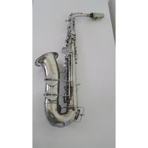 Saxofone Alto Weril Brasil Decada De 50 Conservado Tocando