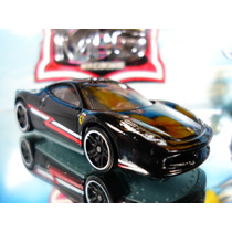 Hot Wheels Ferrari 458 Italia Preta 35/2014 Lacrado/blister