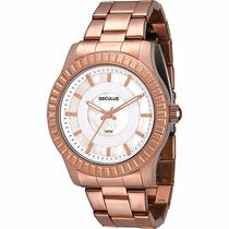 Relógio Seculus Feminino Quartzo Novo Na Caixa Original